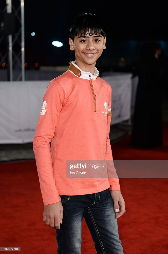 Actor Mahmoud Asfa attends the 'On the Way to School' Premiere during day 2 of Ajyal Youth Film Festival on November 27, 2013 in Doha, Qatar.