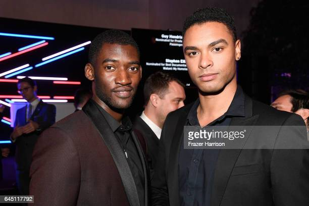 Actor Malachi Kirby and guest attend Film is GREAT Reception honoring the British Nominees of the 89th Annual Academy Awards Sponsored by British...