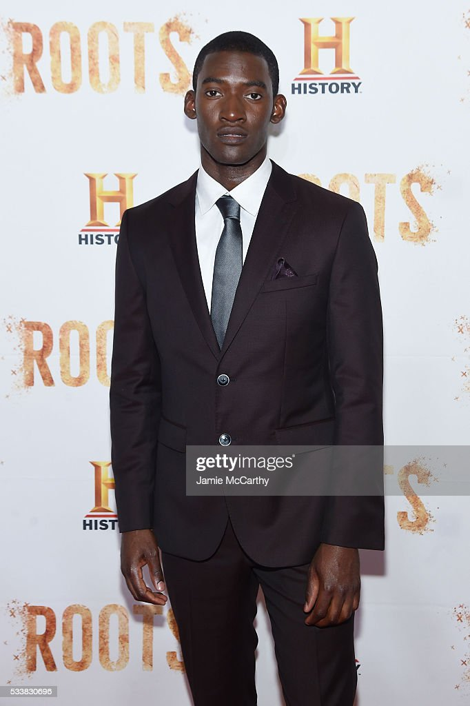 Actor Malachi Kirby attends the 'Roots' night one screening at Alice Tully Hall Lincoln Center on May 23 2016 in New York City