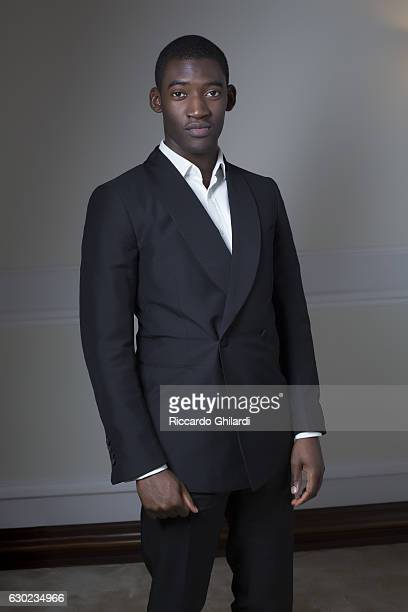 Actor Malachi Kirby is photographed for Self Assignment on December 8 2016 in Rome Italy
