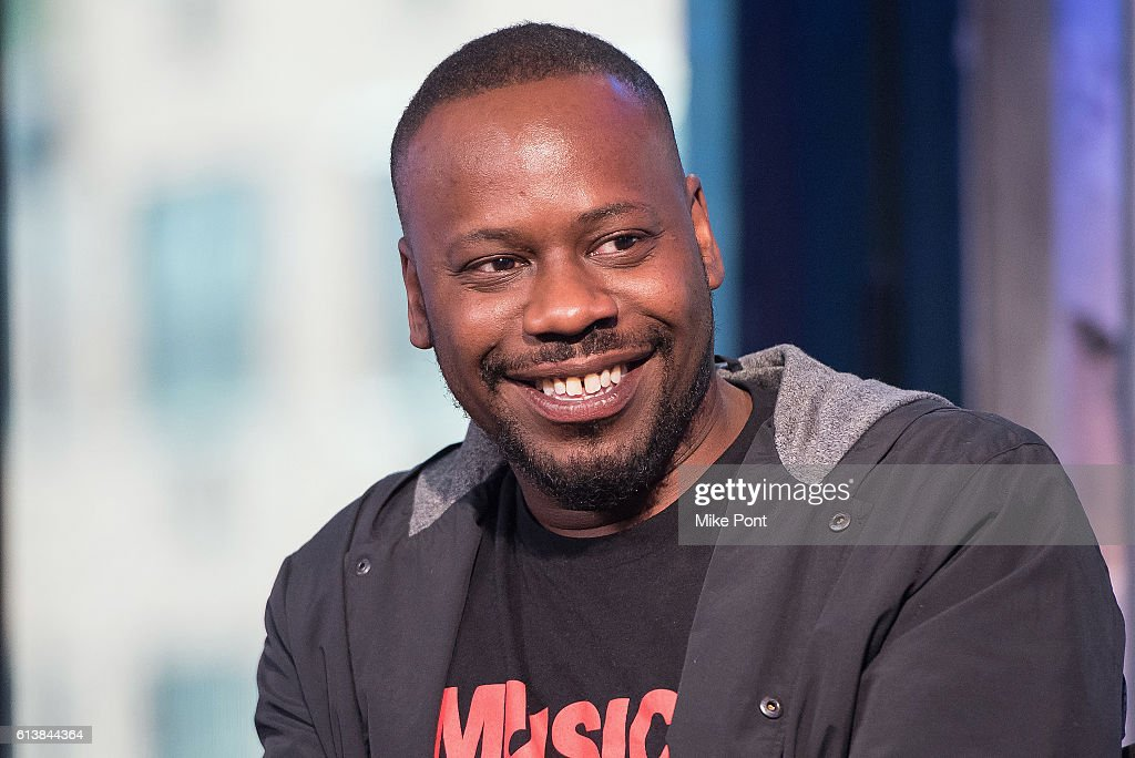 Actor Malcolm Barrett attends the Build Series to discuss 'Timeless' at AOL HQ on October 10, 2016 in New York City.