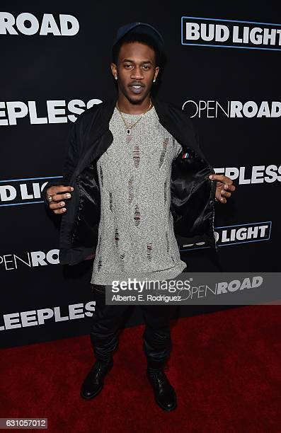 Actor Malcolm David Kelley attends the Premiere of Open Road Films' 'Sleepless' at Regal LA Live Stadium 14 on January 5 2017 in Los Angeles...