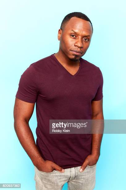 Actor Malcolm Goodwin from CW's 'iZombie' poses for a portrait during ComicCon 2017 at Hard Rock Hotel San Diego on July 21 2017 in San Diego...
