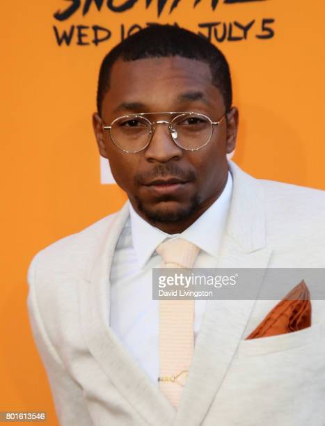 Actor Malcolm M Mays attends the premiere of FX's 'Snowfall' at The Theatre at Ace Hotel on June 26 2017 in Los Angeles California
