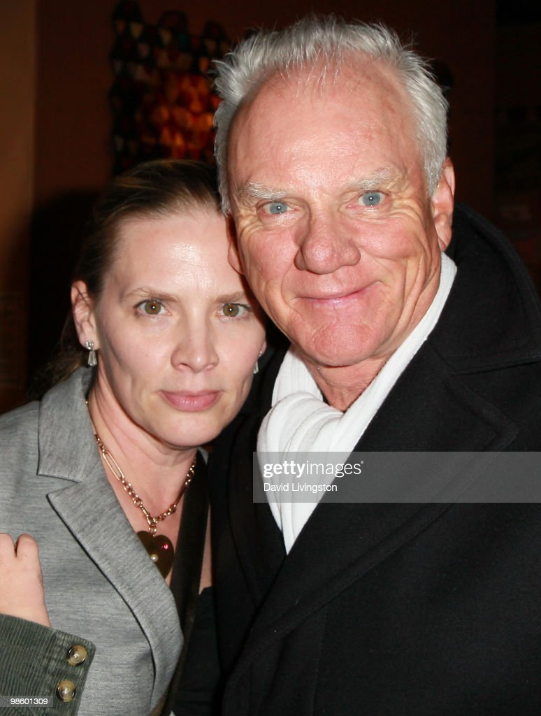 Actor <a gi-track='captionPersonalityLinkClicked' href=/galleries/search?phrase=Malcolm+McDowell+-+Actor&family=editorial&specificpeople=221446 ng-click='$event.stopPropagation()'>Malcolm McDowell</a> (R) and wife Kelley McDowell attend the 15th Annual Los Angeles Antique Show Opening Night Preview Party benefiting P.S. ARTS at Barker Hanger on April 21, 2010 in Santa Monica, California.