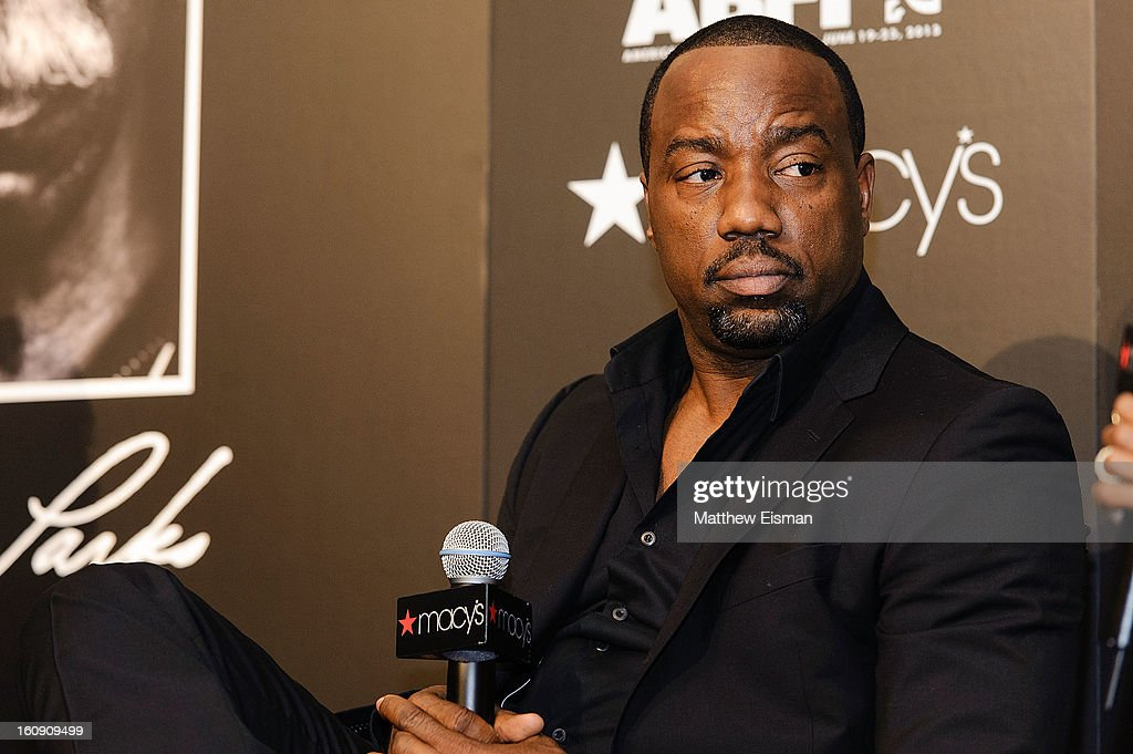 Actor Malik Yoba attends 'In Conversation' Honoring Gordon Parks at Macy's Herald Square on February 7, 2013 in New York City.