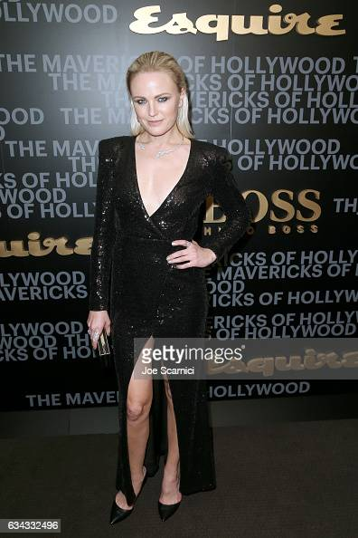 Actor Malin Akerman attends Esquire's celebration of March cover star James Corden and the Mavericks of Hollywood presented by Hugo Boss at Sunset...