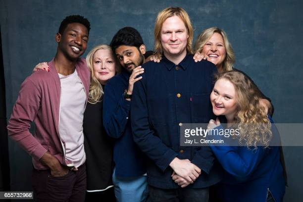 Actor Mamoudou Athie actress Cathy Moriarty actor Siddharth Dhananjay director/writer Geremy Jasper actress Danielle Macdonald and actress Bridget...