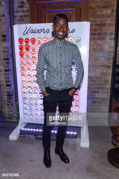 Actor Mamoudou Athie attends the Nespresso hosted 'Unicorn Store' cocktail party during the 2017 Toronto Film Festival at Woody's and Sailor on...