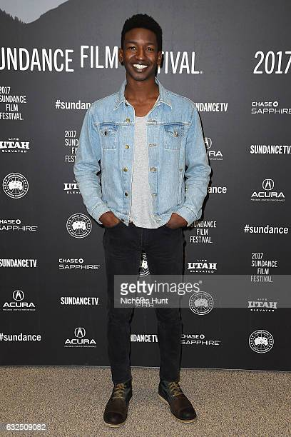 Actor Mamoudou Athie attends the 'Patti Cake$' Premiere 2017 Sundance Film Festival at Eccles Center Theatre on January 23 2017 in Park City Utah