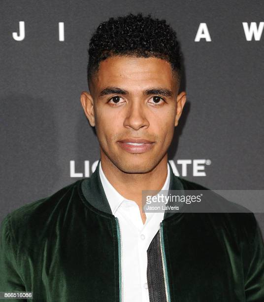 Actor Mandela Van Peebles attends the premiere of 'Jigsaw' at ArcLight Hollywood on October 25 2017 in Hollywood California