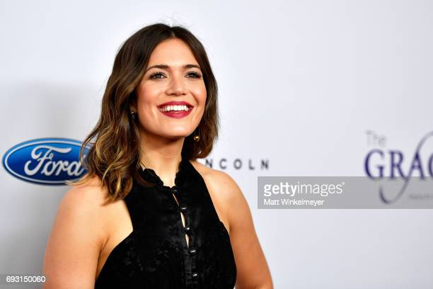 Actor Mandy Moore attends the 42nd Annual Gracie Awards at the Beverly Wilshire Hotel on June 6 2017 in Beverly Hills California