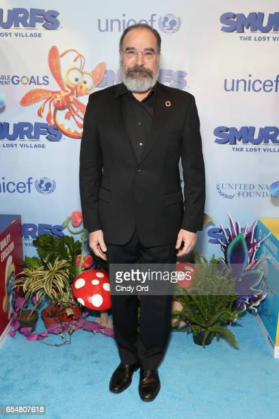 Actor Mandy Patinkin at the United Nations Headquarters celebrating International Day of Happiness in conjunction with SMURFS THE LOST VILLAGE on...