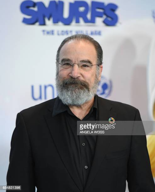 Actor Mandy Patinkin attends International Day of Happiness in conjunction with SMURFS THE LOST VILLAGE at the United Nations Headquarters on March...