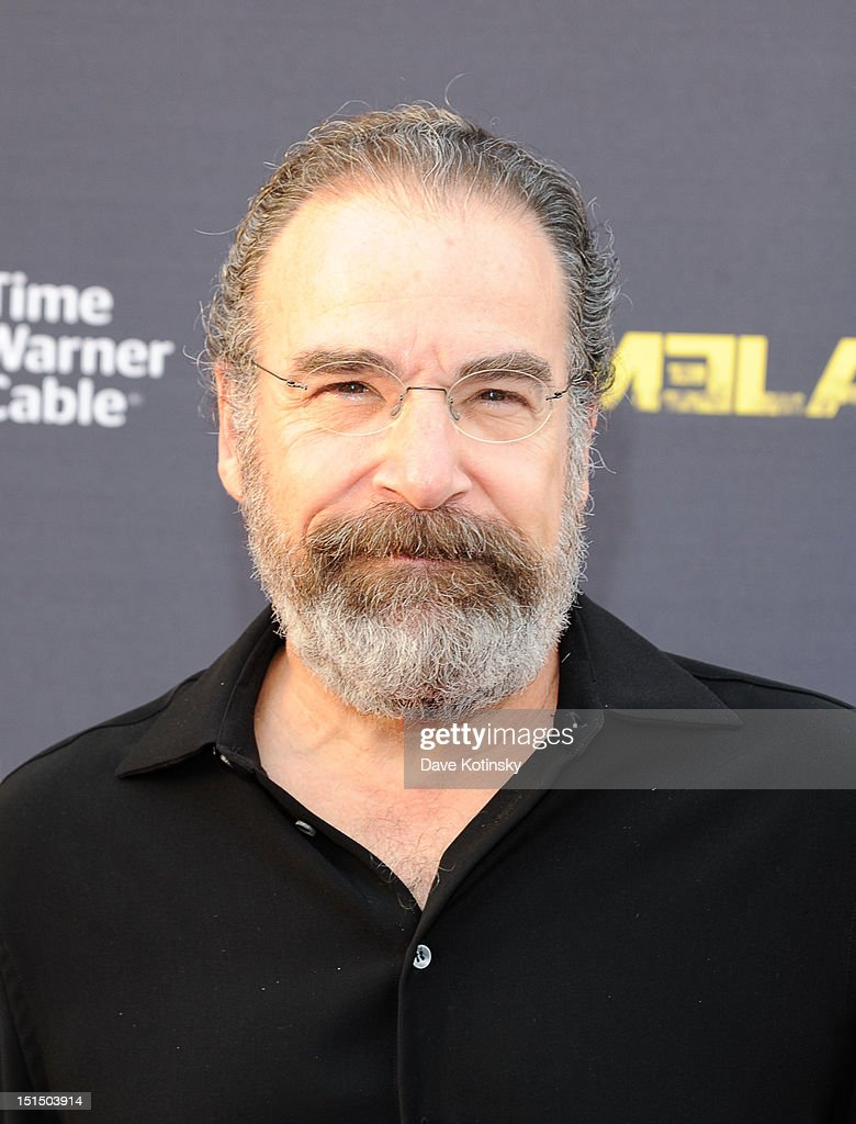 Actor Mandy Patinkin attends Time Warner Cable And Showtime Screening Of 'Homeland' Season 2 at Intrepid SeaAirSpace Museum on September 7 2012 in...