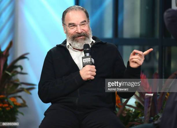 Actor Mandy Patinkin discusses 'Homeland' And 'Smurfs The Lost Village' at Build Studio on April 7 2017 in New York City