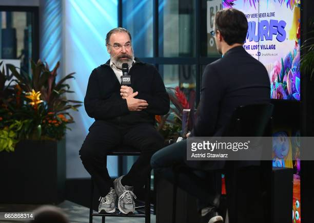 Actor Mandy Patinkin discusses 'Homeland' And 'Smurfs The Lost Village' with Ricky Camilleri at Build Studio on April 7 2017 in New York City