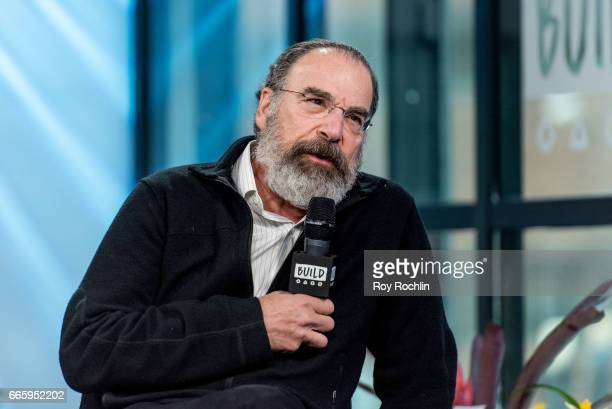 Actor Mandy Patinkin discusses 'Homeland' and 'Smurfs The Lost Village' with the Build Series at Build Studio on April 7 2017 in New York City