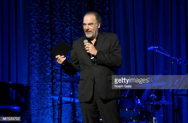 Actor Mandy Patinkin speaks onstage during the Manhattan Theatre Club Spring Gala 2017 at Cipriani 42nd Street on May 22 2017 in New York City