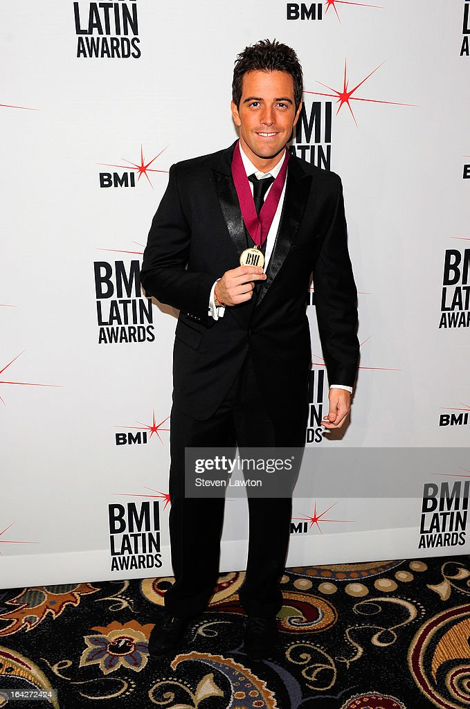 Actor Mane De La Torre arrives at the BMI;s 20th Annual Latin Music Awards at the Bellagio on March 21, 2013 in Las Vegas, Nevada.