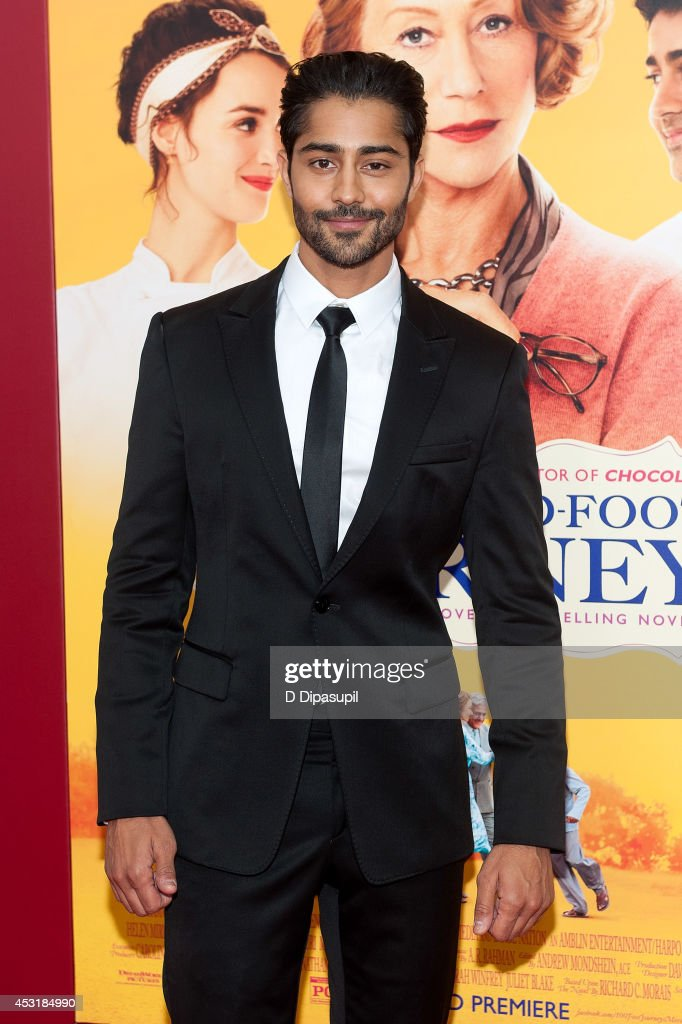 Actor <a gi-track='captionPersonalityLinkClicked' href=/galleries/search?phrase=Manish+Dayal&family=editorial&specificpeople=5593303 ng-click='$event.stopPropagation()'>Manish Dayal</a> attends 'The Hundred-Foot Journey' New York premiere at the Ziegfeld Theater on August 4, 2014 in New York City.