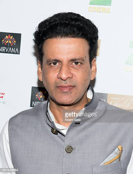 Actor Manoj Bajpayee attends the closing night of the 16th Annual New York Indian Film Festival at Jack H Skirball Center for the Performing Arts on...