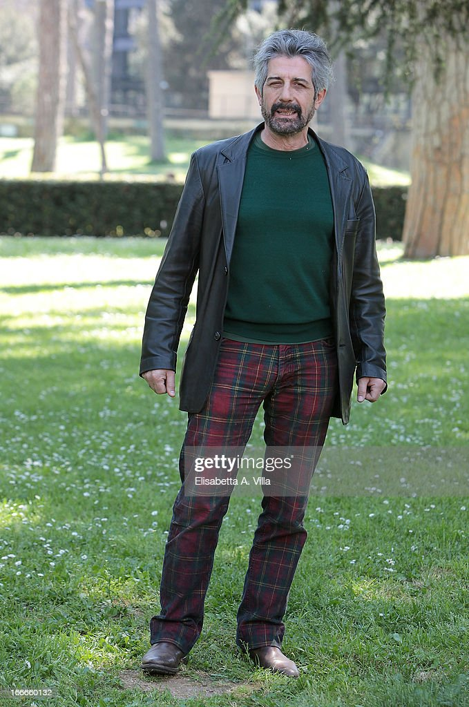 Actor Manrico Gammarota attends 'Razza Bastarda' photocall at Villa Borghese on April 15, 2013 in Rome, Italy.