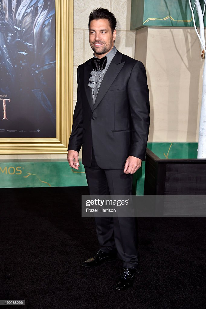 Actor Manu Bennett attends the premiere of New Line Cinema, MGM Pictures And Warner Bros. Pictures' 'The Hobbit: The Battle Of The Five Armies' at Dolby Theatre on December 9, 2014 in Hollywood, California.