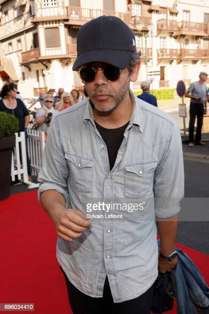 Actor Manu Payet attends 1st day of 31st Cabourg Film Festival on June 14 2017 in Cabourg France