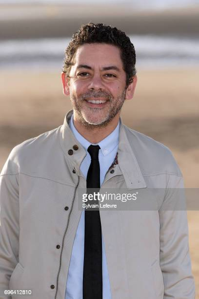 Actor Manu Payet attends jury photocall during the 2nd day of 31st Cabourg Film Festival on June 15 2017 in Cabourg France