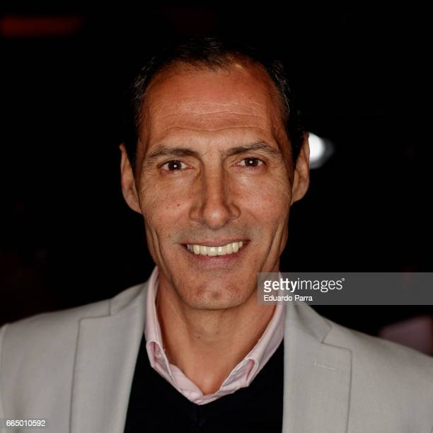 Actor Manuel Bandera attends the 'El Pelotari y la Fallera' premiere at Callao cinema on April 5 2017 in Madrid Spain