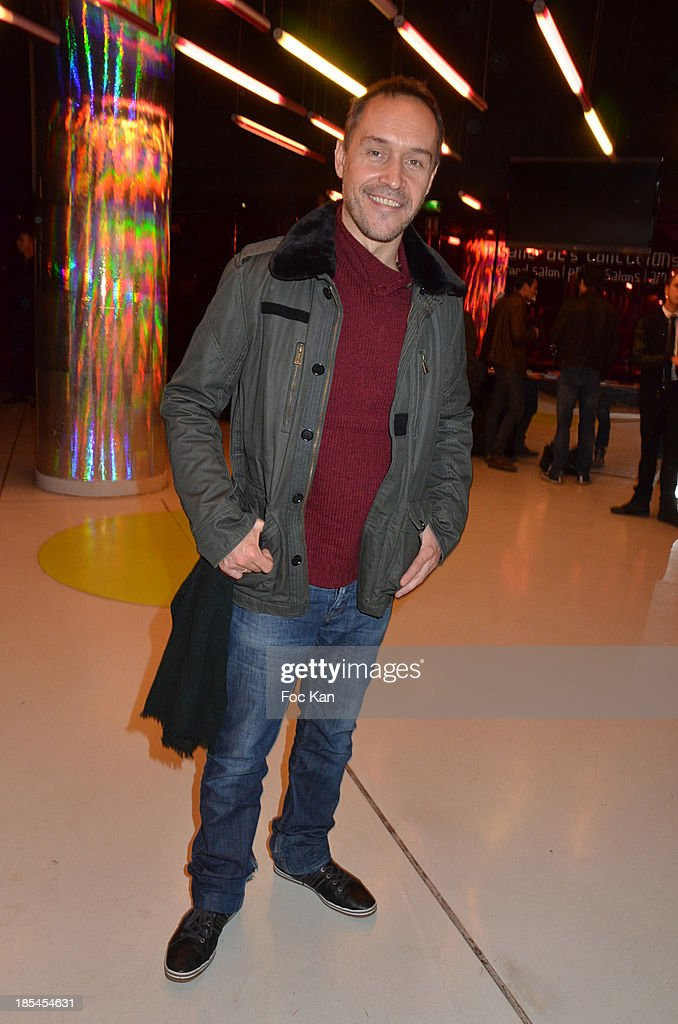 Actor Manuel Blanc attends the 'Cheries Cheris' Gay Lesbian Transexual 19th Film Festival Closing Ceremony At The Forum DesHalles on October 20, 2013 in Paris, France.