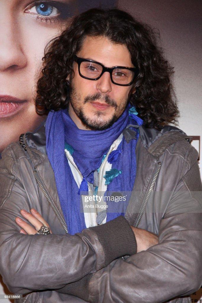 Actor Manuel Cortez arrives at the Germany film premiere of 'Die Tuer' at Kulturbrauerei on November 25, 2009 in Berlin, Germany.