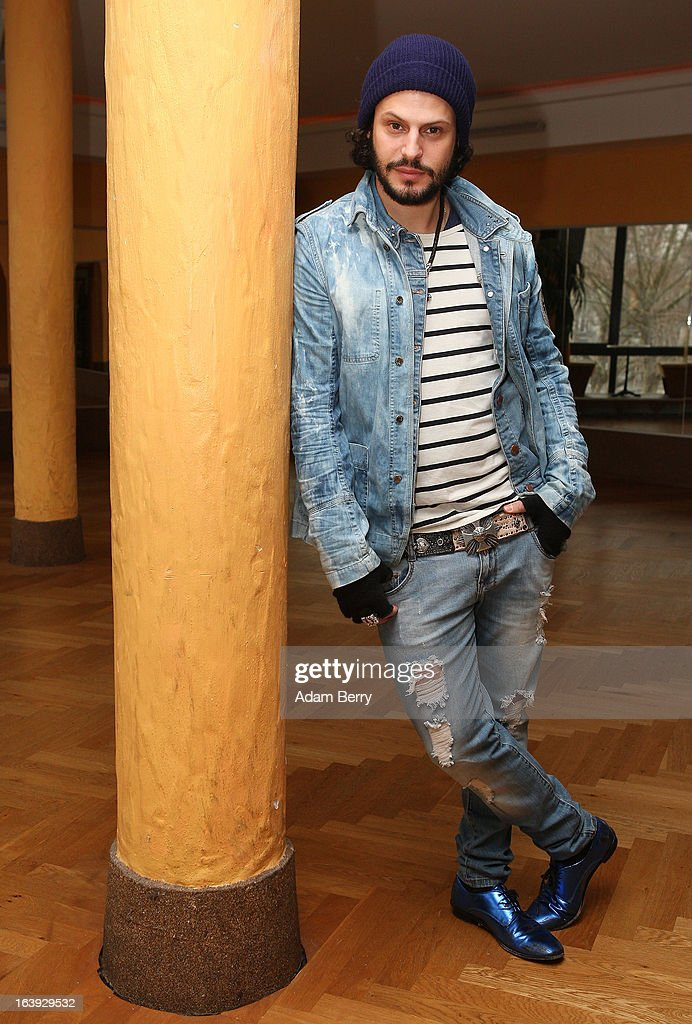Actor Manuel Cortez poses at a photo call for the television competition 'Let's Dance' on March 18, 2013 in Berlin, Germany. On April 5th, the show, in which celebrities compete at dancing, goes into its sixth round on the German RTL network.