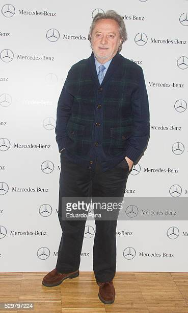 Actor Manuel Galiana attends the 'Agustin Gonzalez' international theatre award photocall at Beef Place restaurant 2016 on May 09 2016 in Madrid