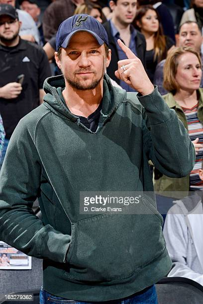 Actor Marc Blucas attends a game between the Chicago Bulls and San Antonio Spurs on March 6 2013 at the ATT Center in San Antonio Texas NOTE TO USER...