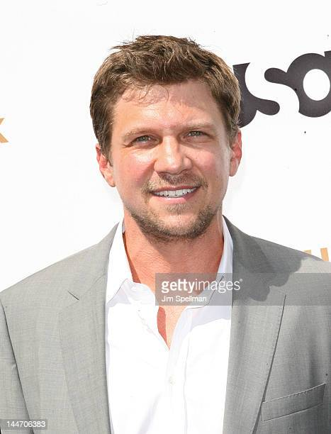 Actor Marc Blucas attends the 2012 USA Network Upfront at Alice Tully Hall on May 17 2012 in New York City