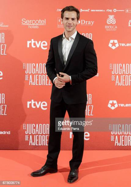Actor Marc Clotet attends the 'El Jugador de Ajedrez' photocall at Gran Via cinema on April 25 2017 in Madrid Spain