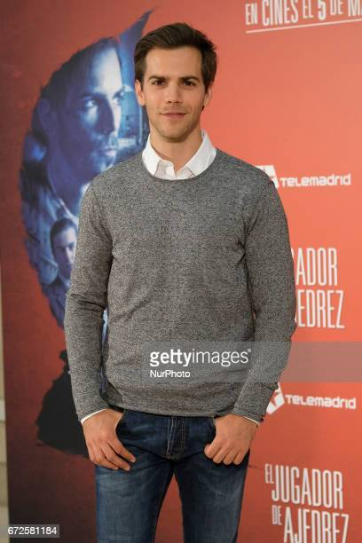Actor Marc Clotet attends the screening of the film quotThe Chess Playerquot at the Princesa de Madrid cinemas Spain 24 april 2017