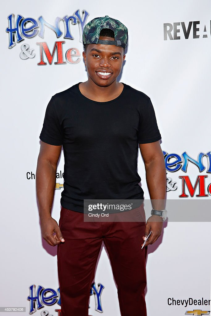 Actor Marc John Jefferies attends the 'Henry & Me' New York Premiere at Ziegfeld Theatre on August 18, 2014 in New York City.