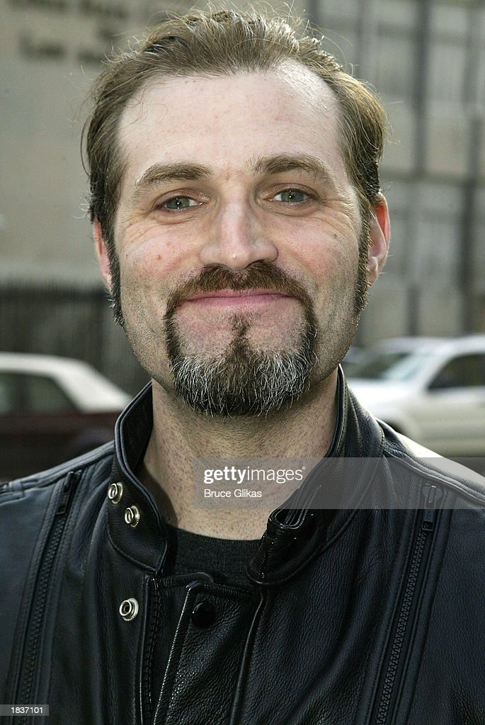 Actor Marc Kudisch, who plays 'Count Carl' in the New York City Opera's production of Stephen Sondheim's 'A Little Night Music', poses after the opening weekend at The New York State Theater at the Lincoln Center on March 8, 2003 in New York City.