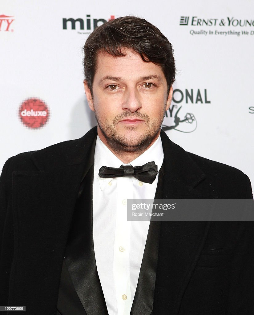 Actor Marcelo Sarrado attends the 40th International Emmy Awards on November 19, 2012 in New York City.