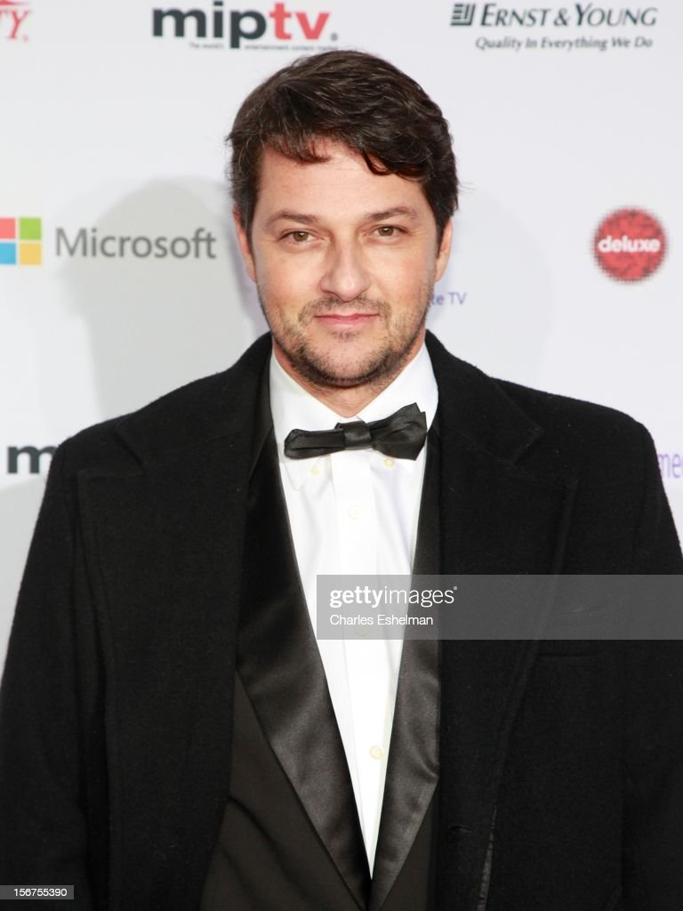 Actor Marcelo Serrado attends the 40th International Emmy Awards at Mercury Ballroom at the New York Hilton on November 19, 2012 in New York City.
