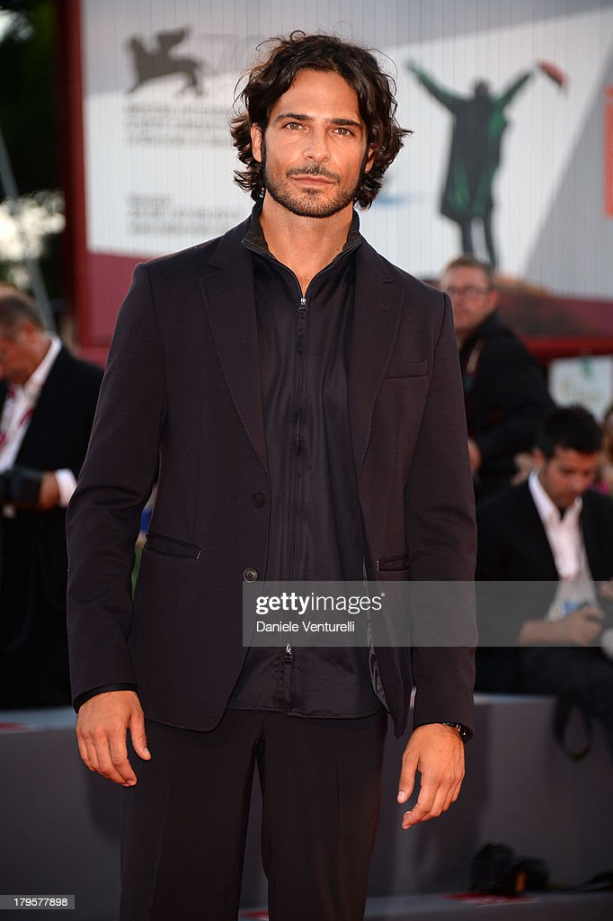 Actor Marco Bocci attends 'La Jalousie' Premiere during the 70th Venice International Film Festival at the Sala Grande on September 5, 2013 in Venice, Italy.