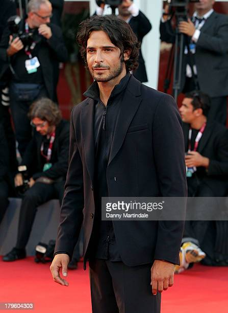 Actor Marco Bocci attends 'La Jalousie' Premiere during the 70th Venice International Film Festival at the Sala Grande on September 5 2013 in Venice...