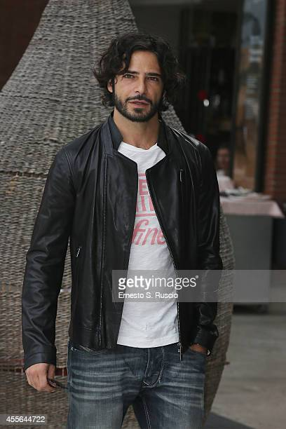 Actor Marco Bocci attends the Press Conference of Taodue photocall at Auditorium Parco Della Musica on September 18 2014 in Rome Italy