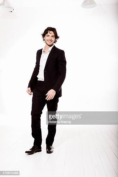 Actor Marco Bocci is photographed for Self Assignment on January 12 2012 in Rome Italy
