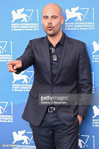 Actor Marco D'Amore attends 'Perez' Photocall during the 71st Venice Film Festival on September 5 2014 in Venice Italy