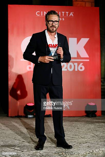 Actor Marco Giallini attends the Ciak D'Oro 2016 awards at Cinecitta on June 8 2016 in Rome Italy