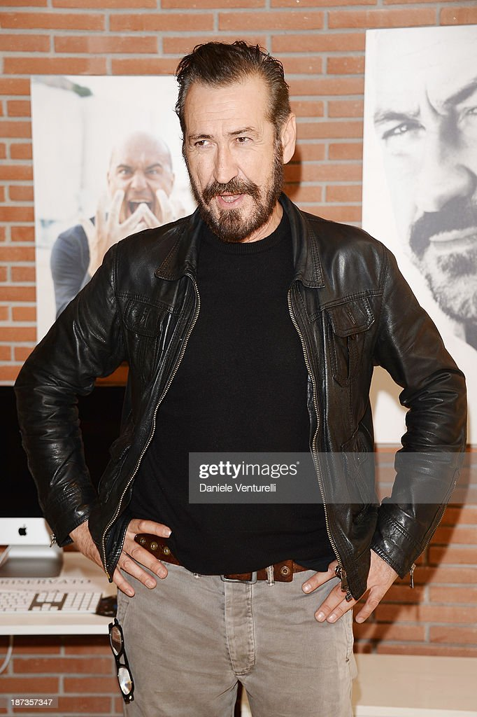 Actor Marco Giallini attends the Rome Film Festival Opening Press Conference during the 8th Rome Film Festival at the Auditorium Parco Della Musica on November 8, 2013 in Rome, Italy.